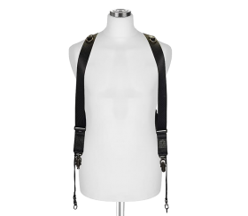 Sideburns Black Nylon S/M | Doppel Harness