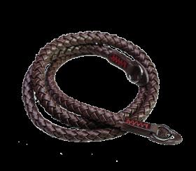 Whip 105cm | Leder Kameragurt Brown