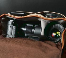 Bowery 50/50 | Kameratasche Leder