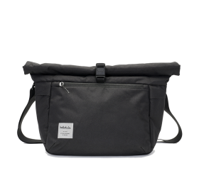 Mody | Fototasche aus recyceltem Nylon Lava Black