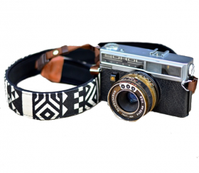 Geometric Black | Kameragurt