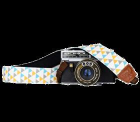 Triangle   Kameragurt Bunt