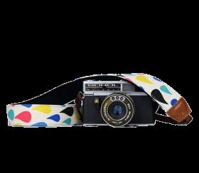 Happy Drops | Kameragurt Bunt