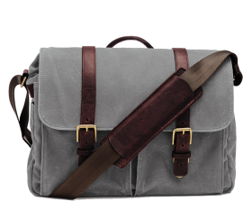 Brixton | Kameratasche Canvas Smoke