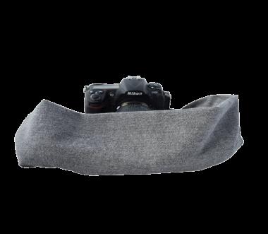 Shetland | Pocket Scarf Grey