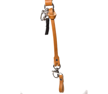 Leder Safety Leash Tan