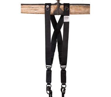 Swagg | Vegan Kamera Harness Black