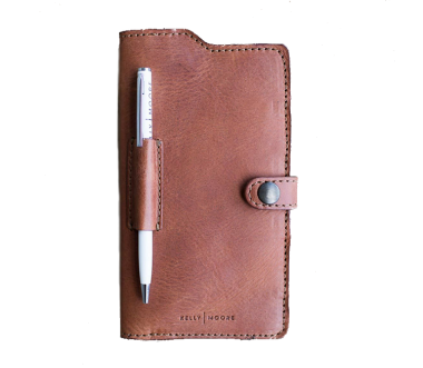 Passport Wallet Cognac