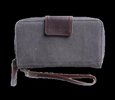 Portemonnaie mit Speicherkartenfächern Grey