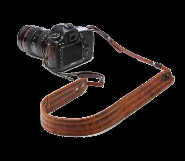 Presidio | Leder Kameraband Cognac