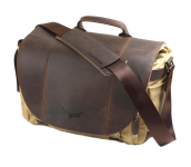 Angus Large 50/50   Leder/Canvas Brown