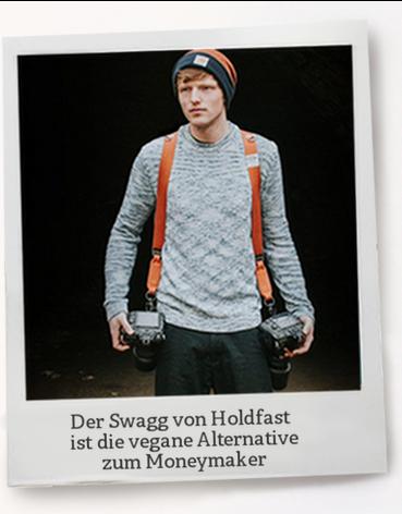 Holdfast Swagg- der vegane Halfter für 2 Kameras