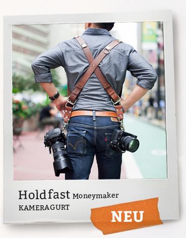 Holdfast Moneymaker - Kameraholster/Kameragurt aus Leder für Männer